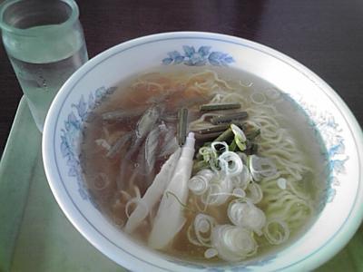 山菜塩ラーメン