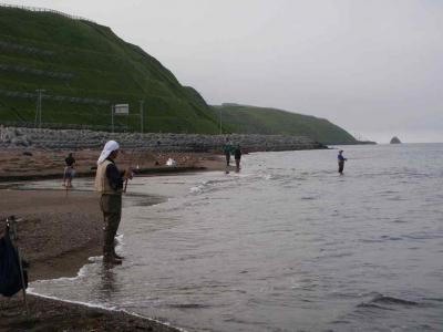 マス釣り場