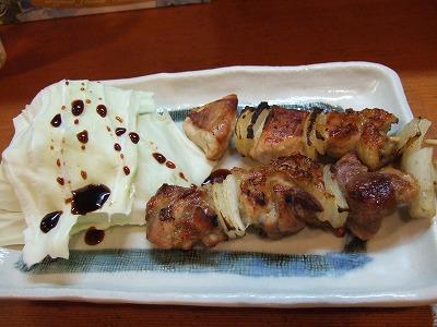 伊予水軍鶏串焼き