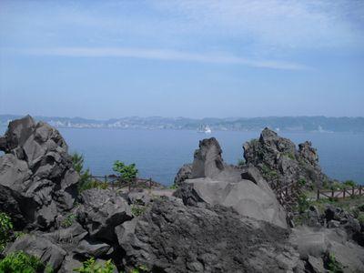 溶岩と海♪