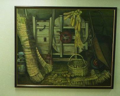 JA旭川厚生病院にある絵
