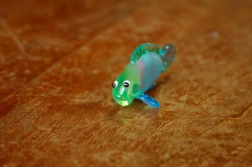 10/9月ガラスのお魚その3