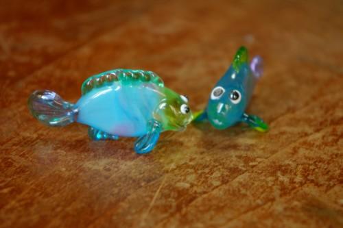 10/8月ガラスのお魚その12
