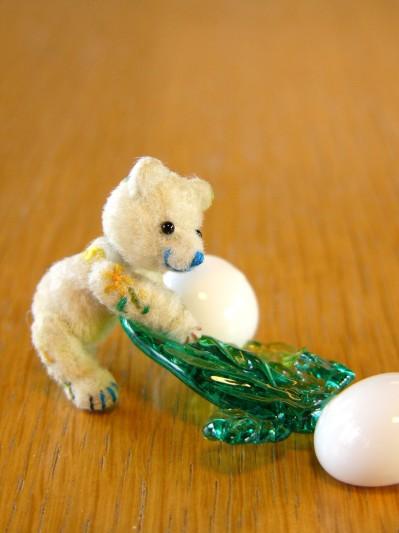 ガラス細工かぶとクマ-その4