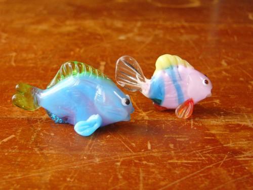ガラス細工-お魚・その6-1