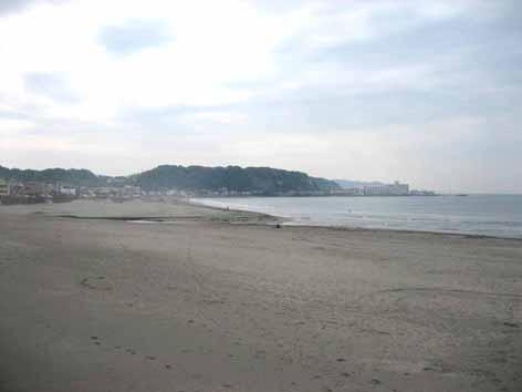 5月の鎌倉の海