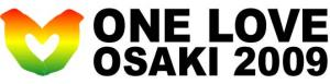 ONE LOVE OSAKI LOGO