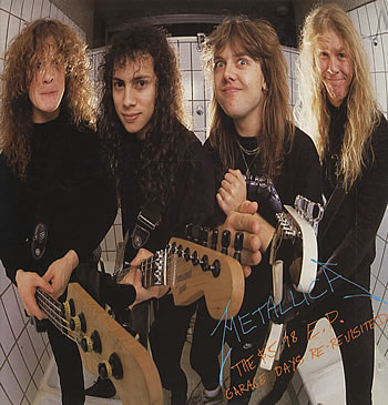 Metallica-GARAGE DAYS RE-REVISITED