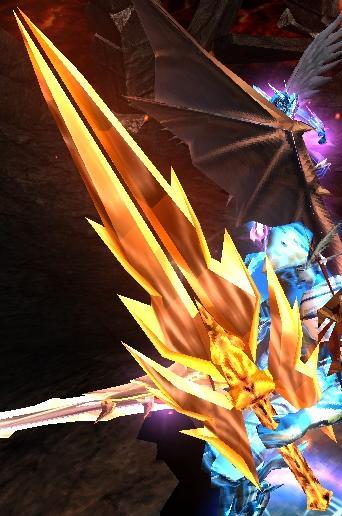 MU史上最高の派手な剣。その名もAA。