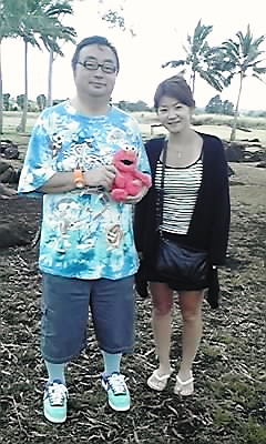 ハワイ・真紀子さんと