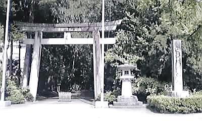 白山ひめ神社・鳥居