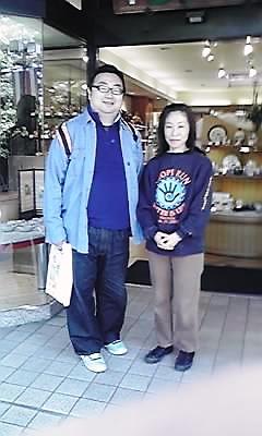 北山堂で和恵さんと