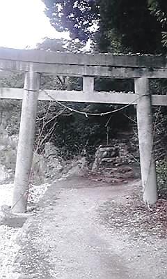 猪鼻湖神社鳥居