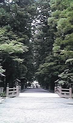 小国神社参道