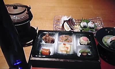 山水館・食事