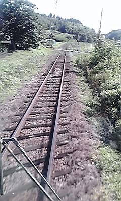 豊肥本線・線路