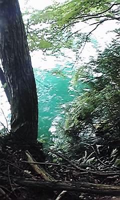 十和田神社湖面