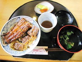 川合村栄屋の鰻
