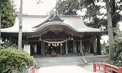 高瀬神社本殿