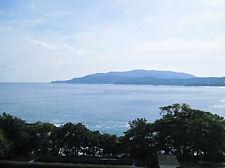 海癒から見た足摺岬 (2)