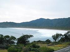 海癒から見た大岐の浜