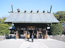 宮崎神宮正門