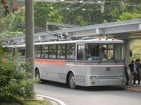 旅 トロリーバス