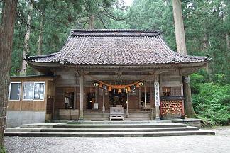 雄山神社(芦)