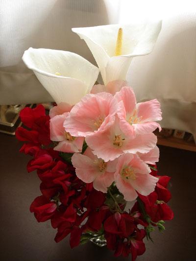 花束に込めて