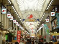 明石 魚の棚市場