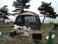 カレーライスin琵琶湖