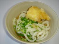 まごころ 半熟卵天ぷら入りおうどん