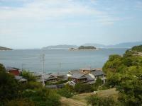 庵治観光ホテル 海のやどり 男風呂からの景色
