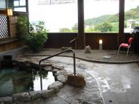 庵治観光ホテル 海のやどり 男風呂 外風呂