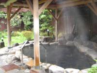 城崎温泉 鴻の湯 露天風呂