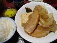 高良食堂 煮付け500円