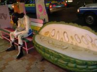 沖縄那覇国際通りのジョーとゴーヤ
