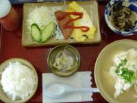 三極 ゆし豆腐定食