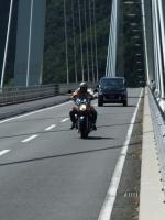 橋の上で・・・1