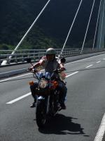 橋の上で・・・2