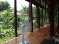 里山料理 加か成 涼しげなお庭を眺めて