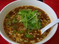 金坦々麺 700円