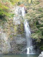 箕面の滝 紅葉