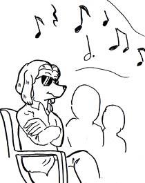 コンサートを聴く