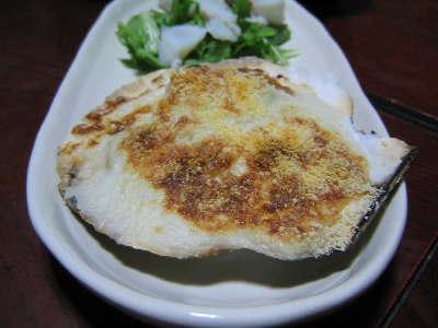 ホタテの山芋グラタン