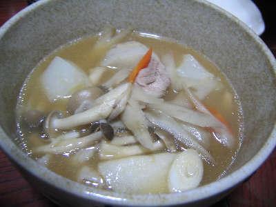 芋煮(山形県内陸北部風)