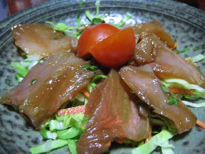 マグロの洋風漬けサラダ