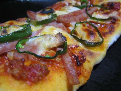 ありあわせピザ。