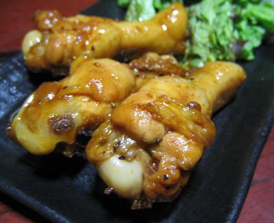 鶏肉の照り焼き風