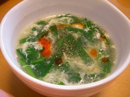 にらスープ